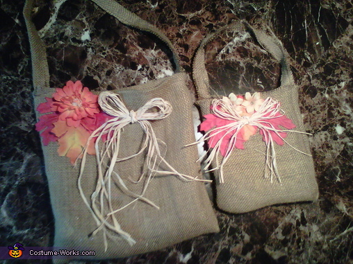 Trick or treat bags , Cute Scarecrows Halloween Costumes