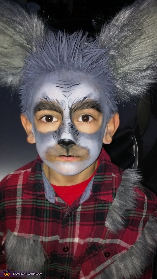 Cute Werewolf Homemade Costume