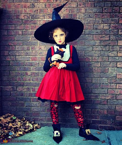Cute Witch Costume Original Halloween Costumes