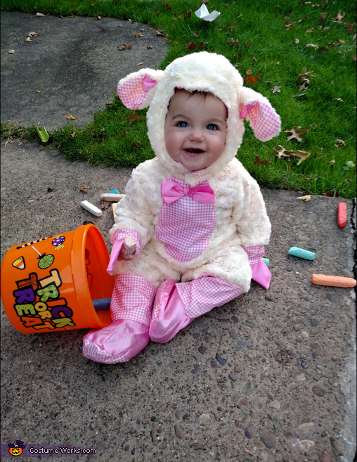 sc 1 st  Costume Works & Cutest Baby Lamb Costume