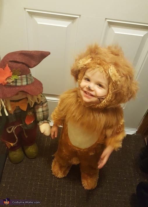 Cutest Cowardly Lion Costume