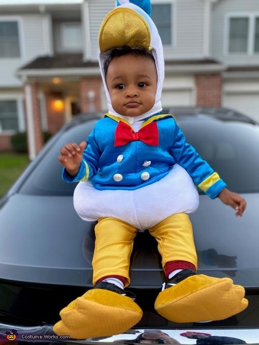 Baby Donald Duck - Kelano, Cutest Donald Duck Costume
