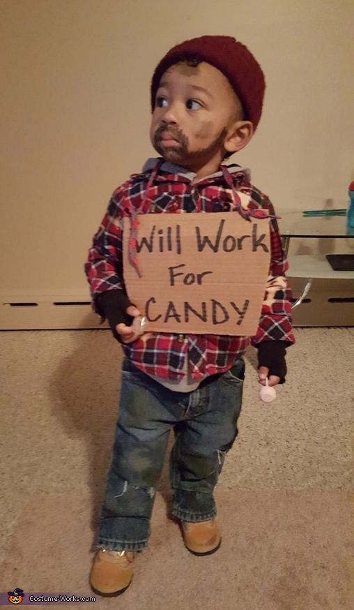 Cutest Lil Hobo Costume