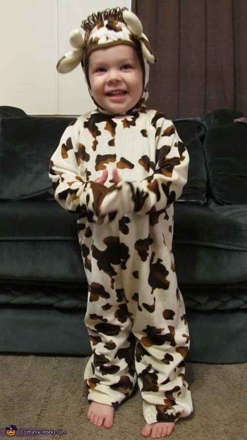 Who says cows can't walk on two feet?, Cutest Little Cow Baby Costume