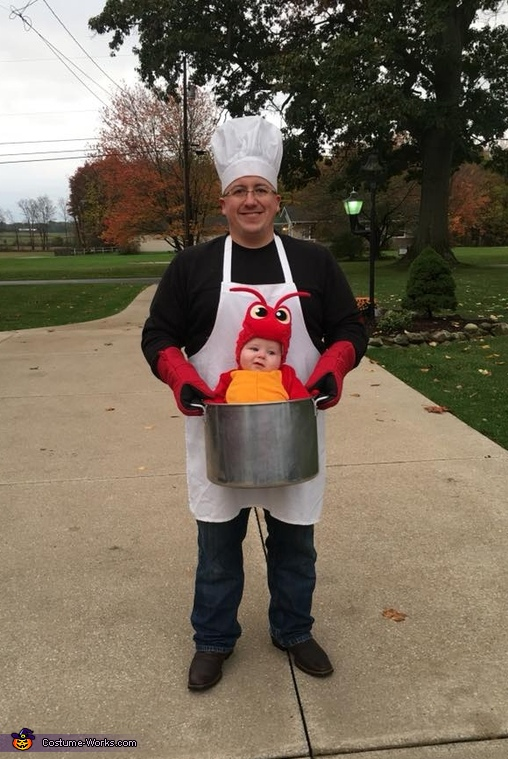 Cutest Lobster In The Pot Costume