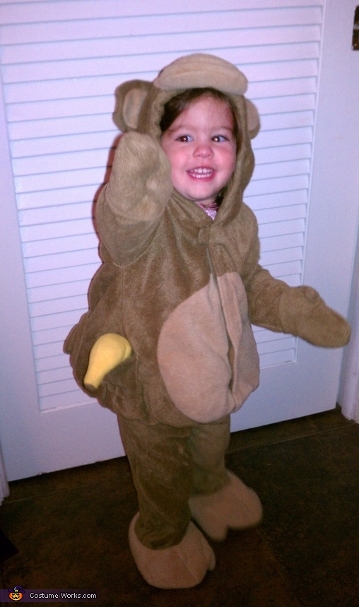 Cutest Monkey Baby Costume
