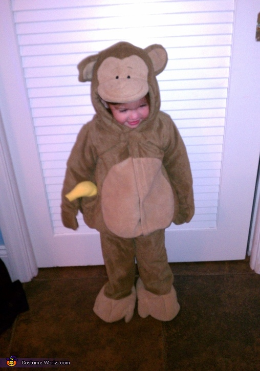 my little monkey!, Cutest Monkey Baby Costume