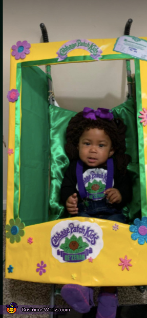 Cutest Premie Cabbage Patch Kid Homemade Costume