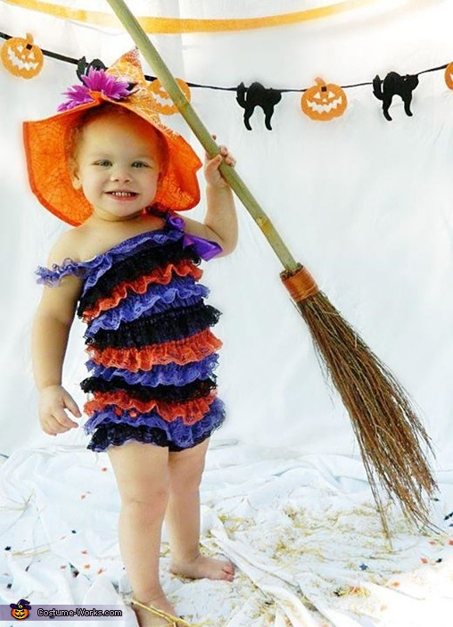 Cutest Witch Baby Costume