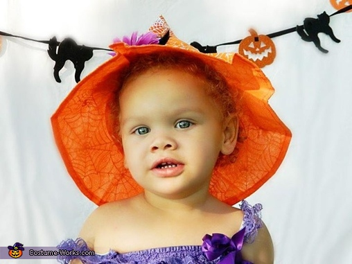 Cutest Witch Baby Homemade Costume