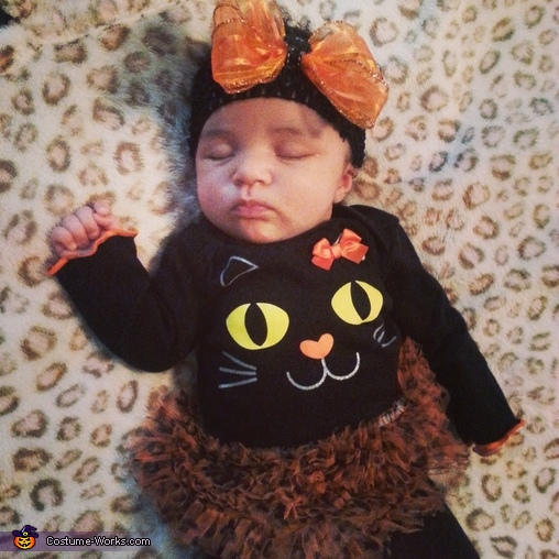 Cutey Cat Baby Costume