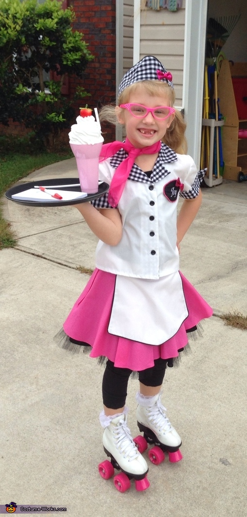 Cutie Car Hop Costume