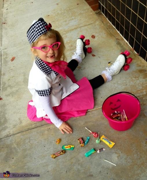 Oopsie Daisy , Cutie Car Hop Costume