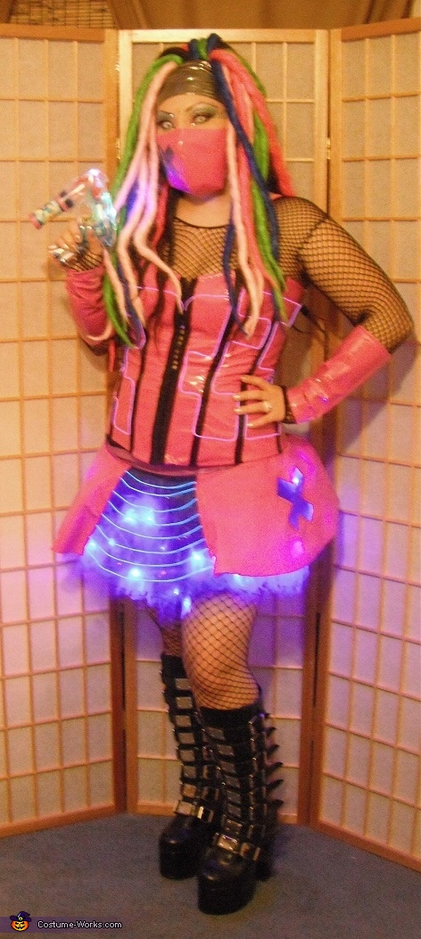 Cyber Girl Costume