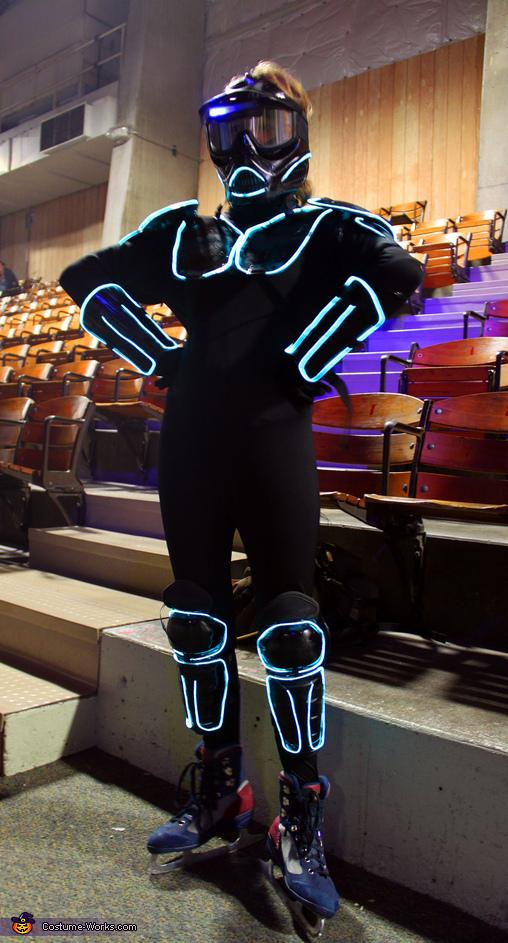 Cyber Warrior Costume