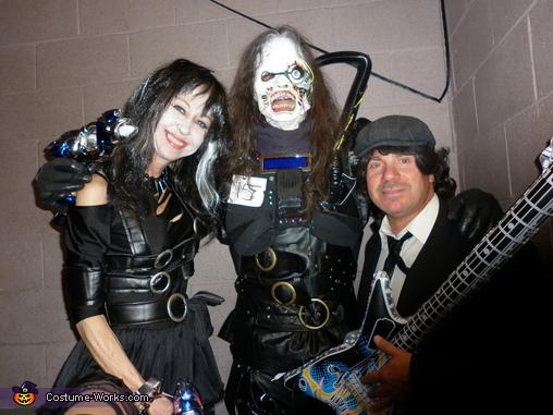 me, gary, tina, Cyborg Costume