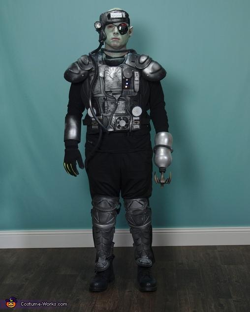 Cyborg Homemade Costume