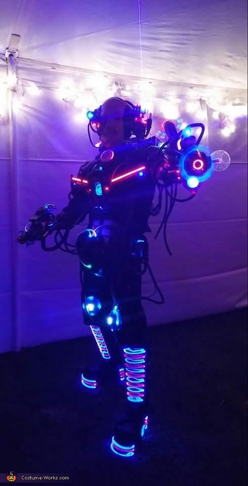 Cyborg - Locutus of Borg Homemade Costume