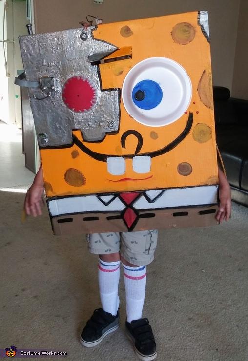 Cyborg SpongeBob Costume
