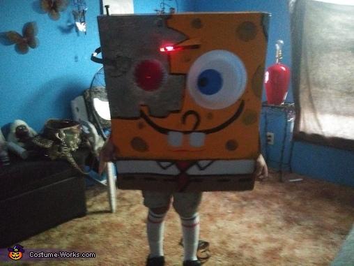 Cyborg SpongeBob Homemade Costume
