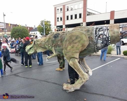 Cyborg T-Rex Costume