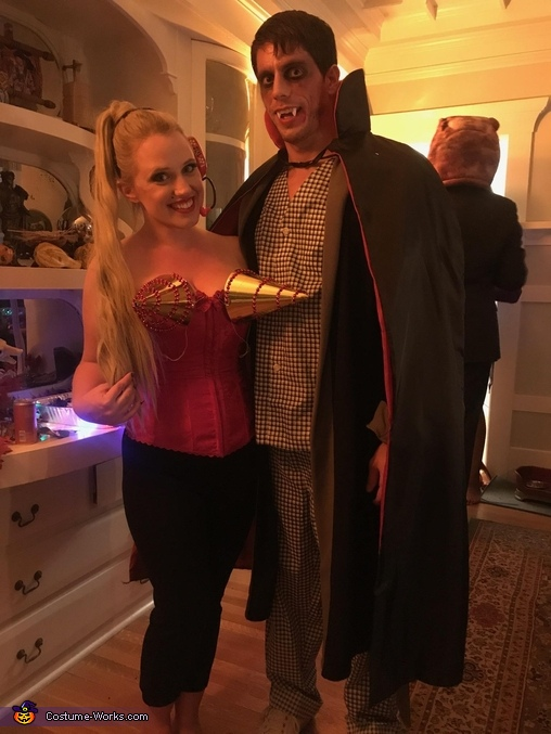 DADcula and Madonna from Hocus Pocus Costume