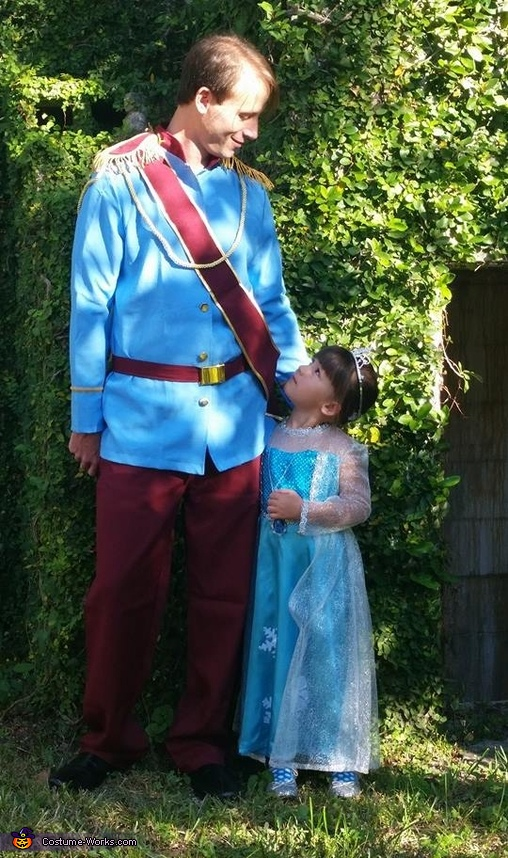 Daddy and his Little Princess Costume