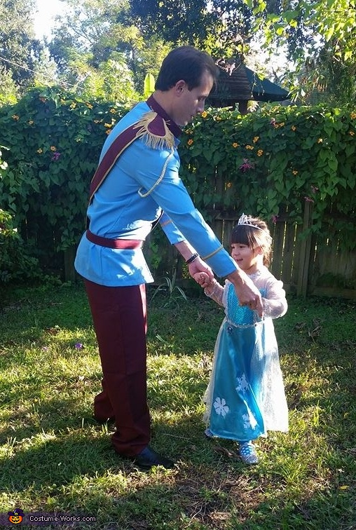 Daddy and Daughter Dancing, Daddy and his Little Princess Costume