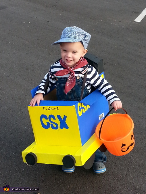 Daddy's CSX Train Costume