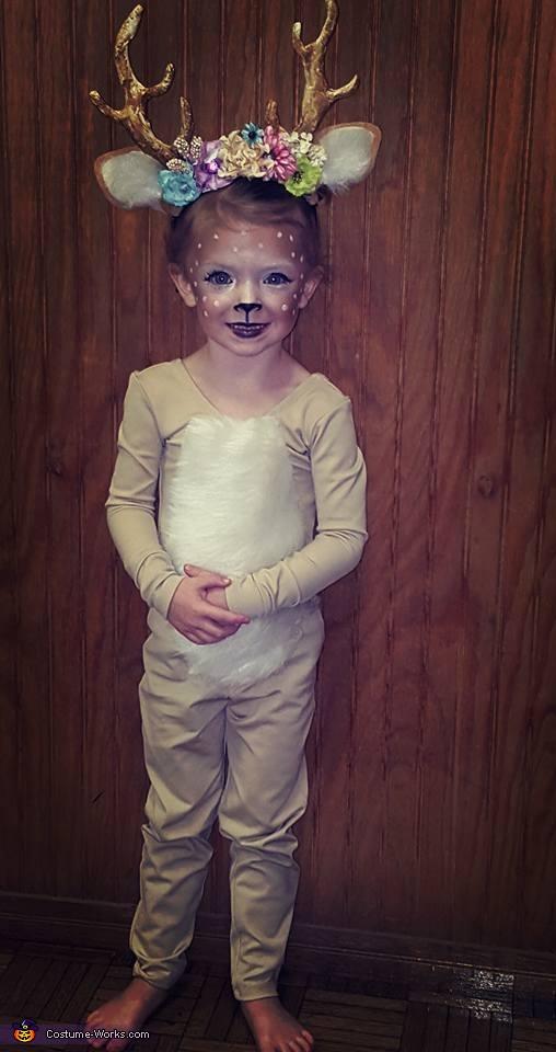 Daddy's Deer Costume