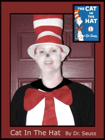Dad, Spencer - The Cat in the Hat, Dr. Seuss Book Characters Costume