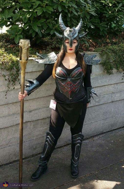 Daedric Warrior Costume