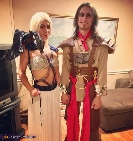 Daenerys, Daario and Dragon Costume