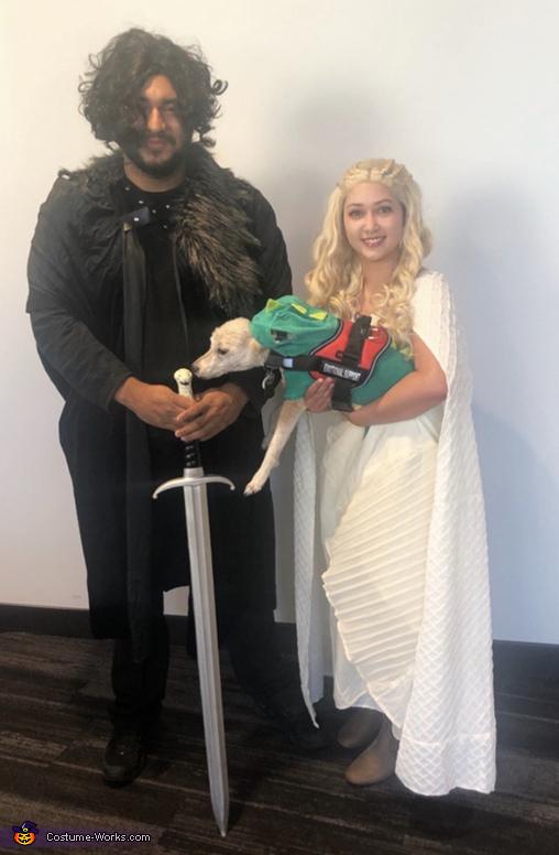 Daenerys Targaryen and Jon Snow Costume