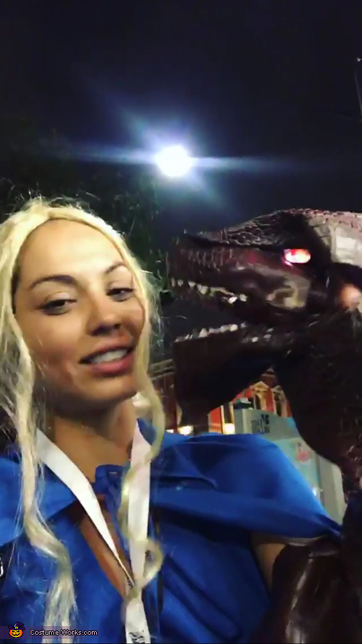 Dragon face, Daenerys Targaryen, Jon Snow and Dragon: Game Of Thrones Costume