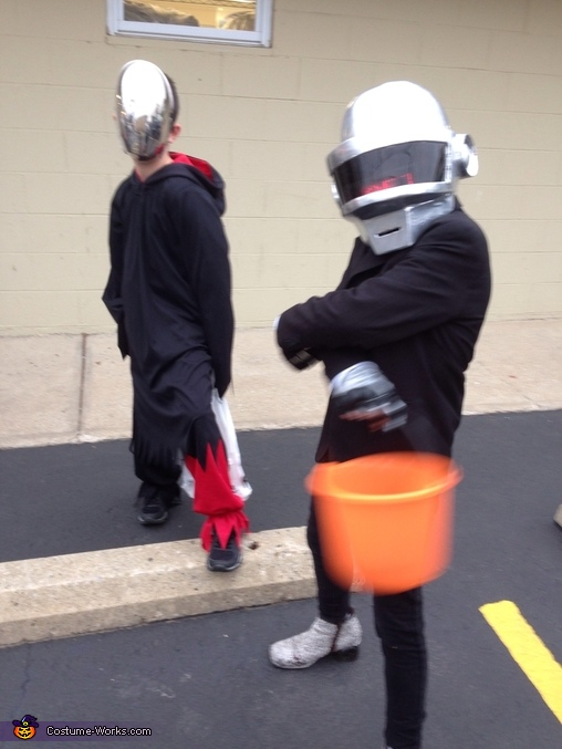 Daft Punk Homemade Costume