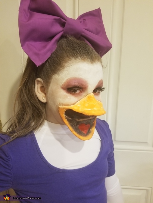 Daisy Duck Homemade Costume