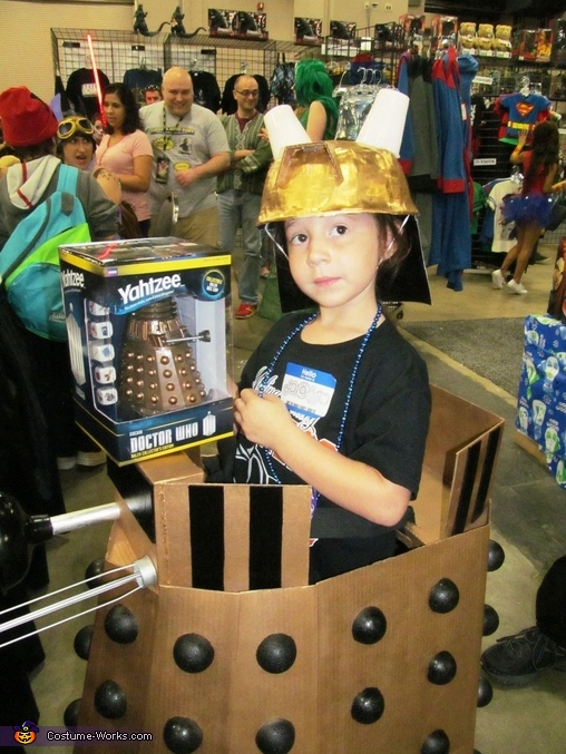 Can I have this?, Doctor Who Dalek Costume