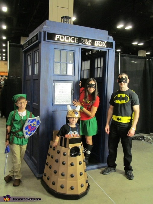 Family Pic, Doctor Who Dalek Costume