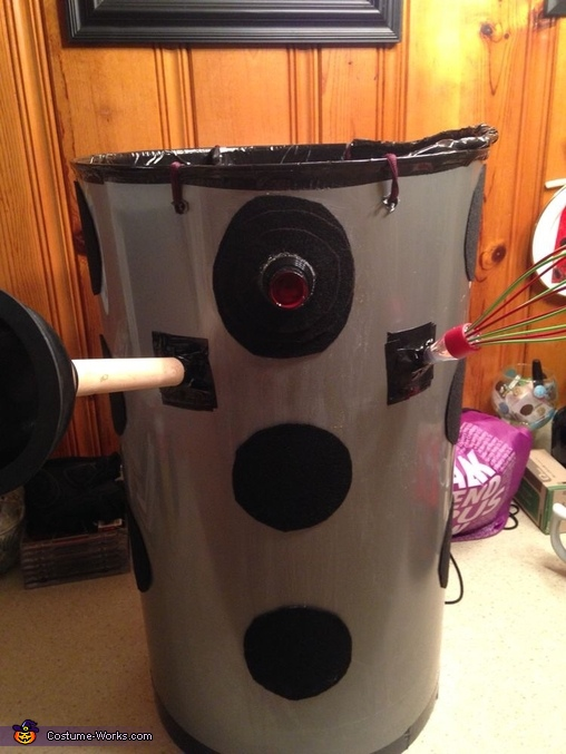 Dalek Homemade Costume
