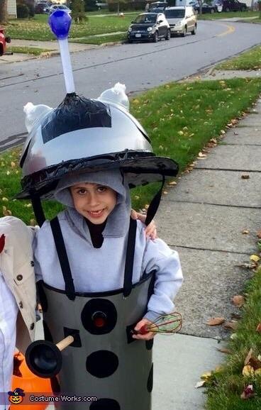 Dr Who Dalek Costume DIY