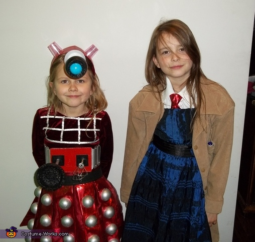 Dalek and The Tenth Doctor Costume