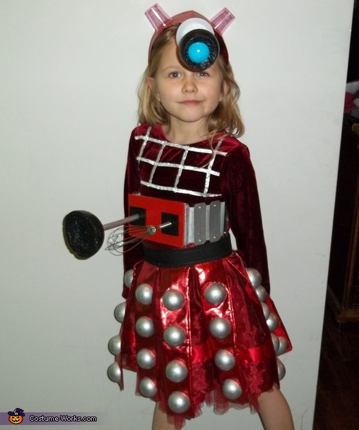 Doctor Who Dalek Costume, Dalek and The Tenth Doctor Costume