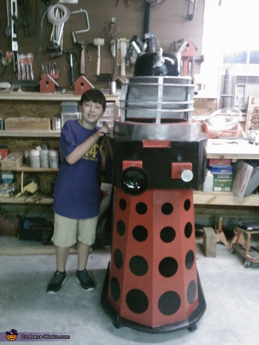 Dalek from Doctor Who Costume