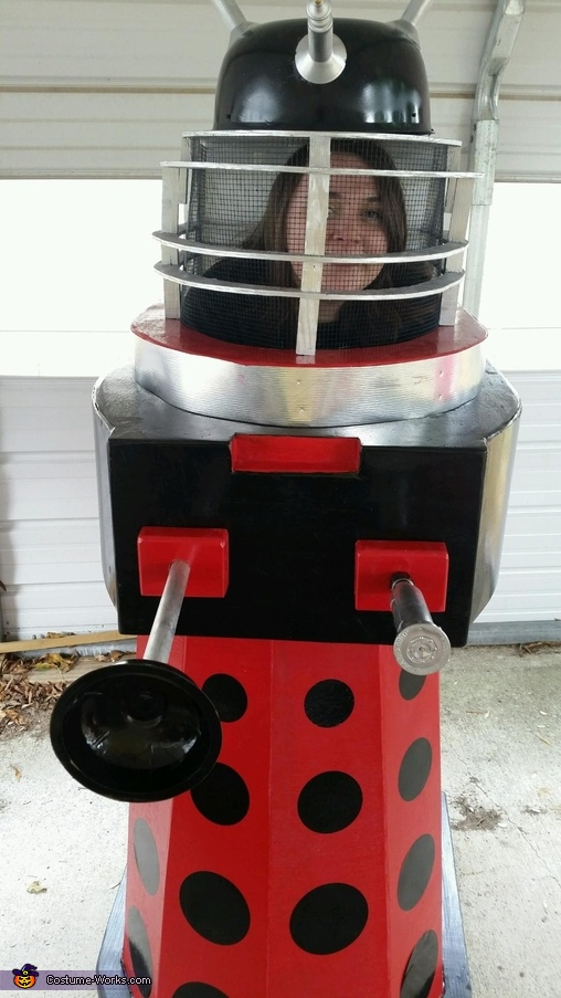 Dalek from Doctor Who Homemade Costume