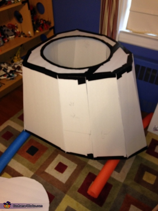 Base pre-paint, Dalek from Dr. Who Costume