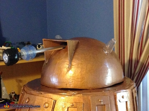 Dome and Eye Stalk, Dalek from Dr. Who Costume