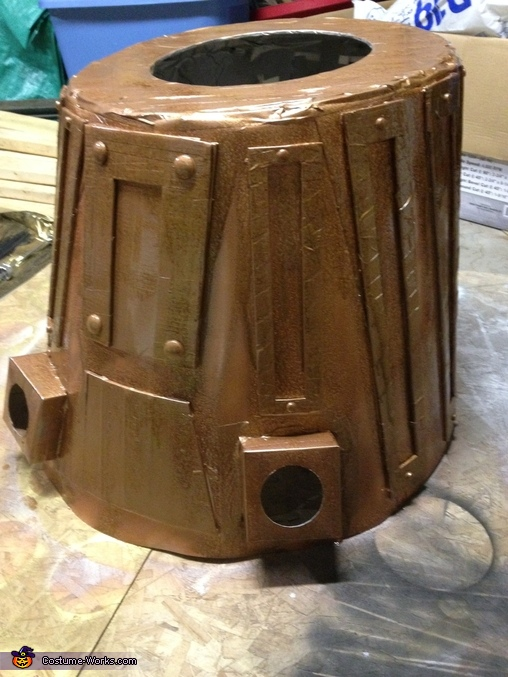 Middle Section Complete, Dalek from Dr. Who Costume