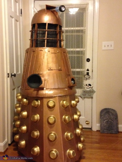 Anothe Completed photo, Dalek from Dr. Who Costume