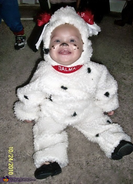 Dalmatian Puppy Costume  sc 1 st  Costume Works : dalmatian puppy costume toddler  - Germanpascual.Com